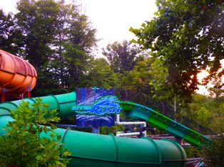 This Dollywood Splash Country Coaster is known as the River Rush!  It's one of the park's most thrilling rides!