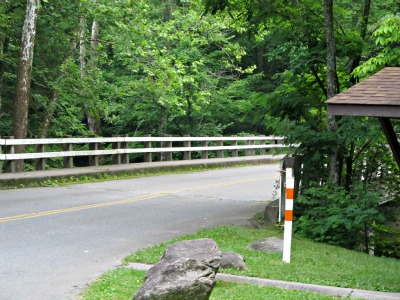 This beautiful bridge in Elkmont is enjoyed by the thousands who come here each year!