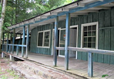 Believe it or not, what draws many to this area are the interest in an old Elkimont Cabin!