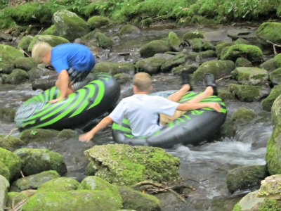 There's plenty of water fun in Elkmont including tubing, fishing, and wading.