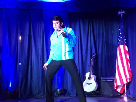 Doug Thompson does songs from Elvis Presley beginnings from the 50's and 60's.