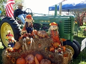 You'll have a blast enjoying the fall festival with friends.