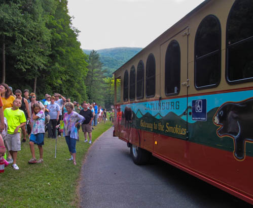 All aboard the Firefly Trolley
