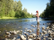 For fishing-tips-fly-fishing-pole is what you need for fishing the the Smokies