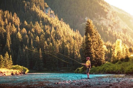 A fishing trips fisherman knows his stuff when it comes to fly fishing in the Smokies.