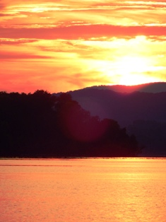 The forecast weather sun is always hot in the Smokies!