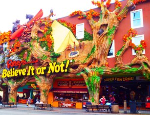 This Gatlinburg Attraction Ripley's Believe It Or Not offers a day of amazement and fun.