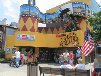 One of the Smokies most exciting Gatlinburg Attractions - Ripley's Moving Theater!