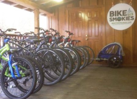 Go biking in the Smokies with this awesome Gatlinburg Attraction