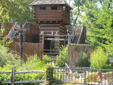 One of Gatlinburg Attractions Davy Crockett Mini Golf