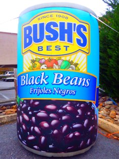 This Gatlinburg Chili Cook off Bush Beans can is a symbol of great beans for delicious chili!