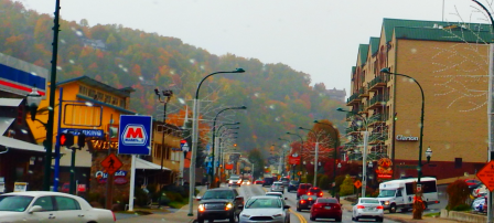 While in Gatlinburg shopping downtown is popular and lots of fun.