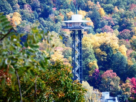 Looking for great views of the city?  The Gatlinburg Space Needle is the perfect place.