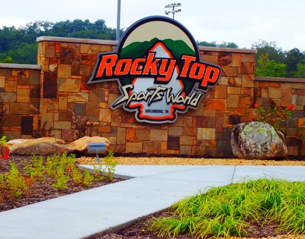 Lots of Gatlinburg sporting events happen at Rocky Top Sports World.