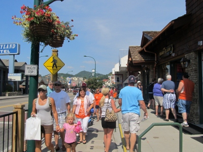 The city of Gatlinburg has everything to offer in the way of shopping!!