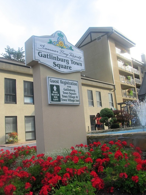 Gatlinburg Town Square is a lovely resort hotel located downtown Gatlinburg.