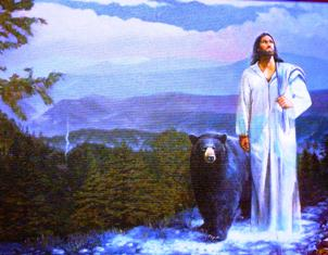 This painting by Stephen S. Sawyer is a beautiful depiction of the power of God in the Smokies!