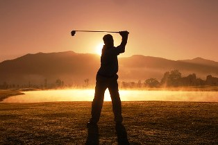 Your golf game comes alive with excitement in the Great Smoky Mountains at the River Island Golf Course!