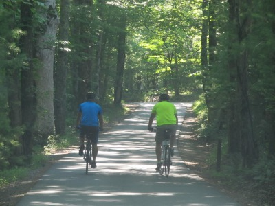 You'll get an excellent workout by biking in the Great Smoky Mountains.