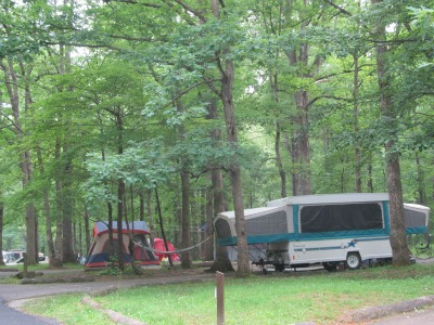 The whole family is sure to have a blast camping in the Great Smoky Mountains.
