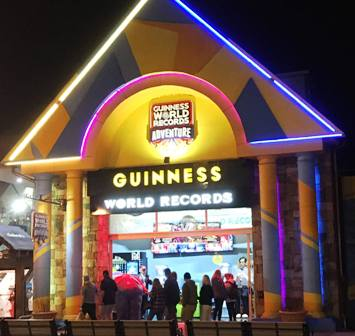 Guinness World Records is both a fun and educational place to visit.