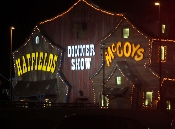The Hatfield and McCoy Dinner Show after dark is still the best show ever!