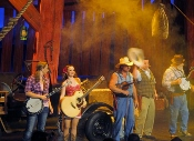 The Hatfields and McCoys Smokin' as they hit that country and bluegrass music!