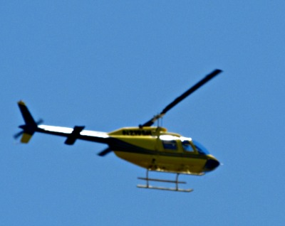 The best views of the Smokies are available by taking exciting helicopter rides.