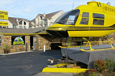 Pigeon Forge Attractions Scenic helicopter Rides will have you seeing awesome views of the city and these mountains!