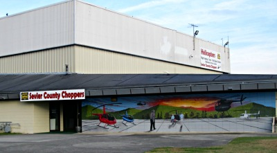 Helicopter Rides with Sevierville Choppers creates lifetime memories.