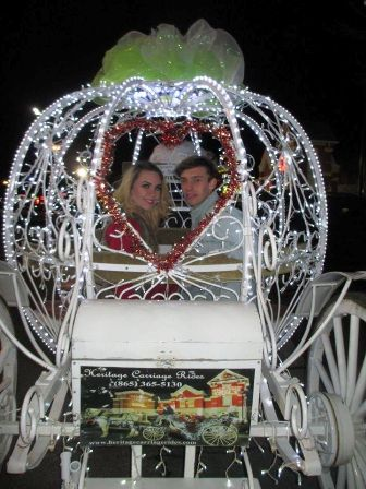 Heritage Carriage Rides Weddings are some of the most romantic in the Great Smoky Mountains.