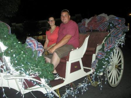 At Heritage Carriage Rides take a joy ride with your favorite person/people!