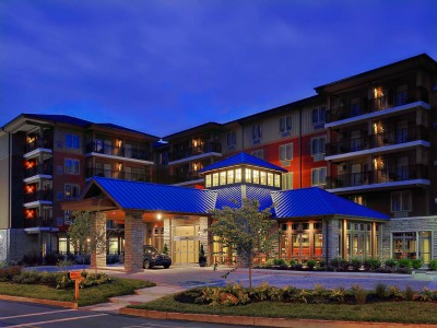The Gardens Inn is a beautiful is one of the Hilton Hotels located in Gatlinburg