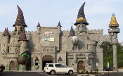 The Hollywood Wax Museum Castle of Chaos has lots of monsters to defeat!  Do you dare???