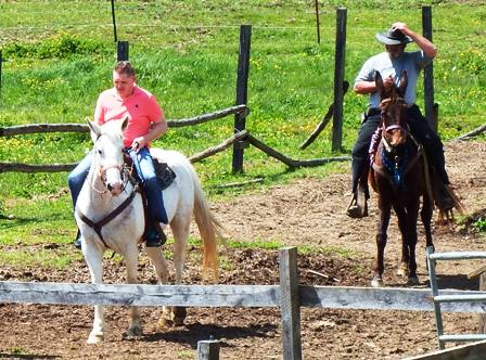 You'll love horseback riding at Goldrush Riding Stables - Pigeon Forge's first and only riding stables!