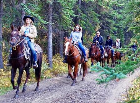 Horseback riding at Walden Creek is a great place to take the whole family!