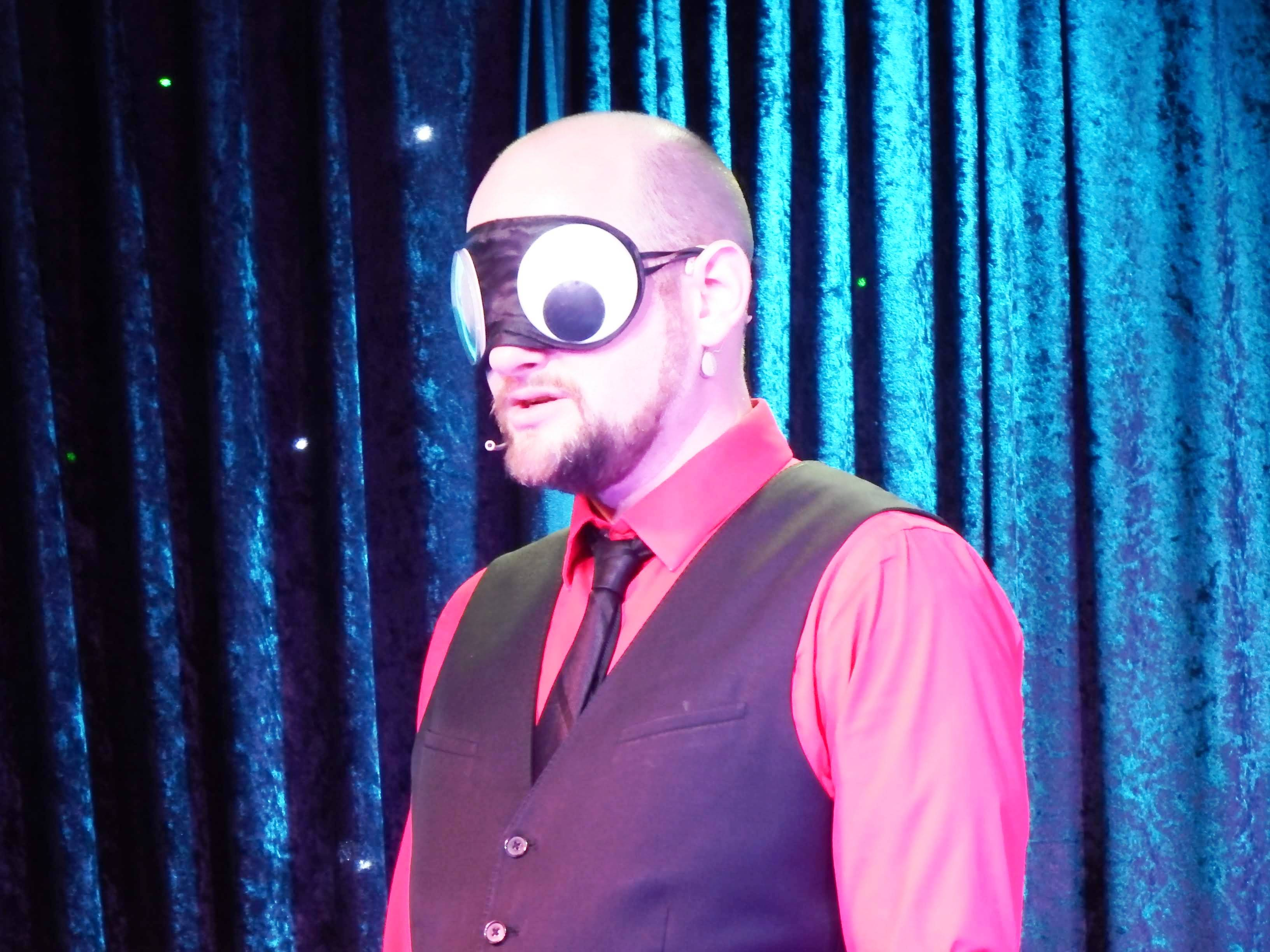 You'll be rolling in the isles with laughter as you witness Impossibilities Magic Show Comedy.