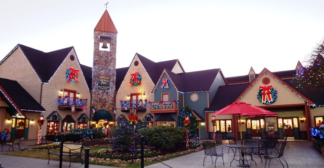 The Incredible Christmas Place is the largest Christmas Shopping Village in the South!