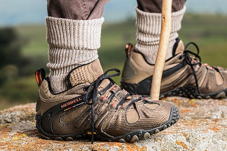For the local hike shoes that give you comfort are the ones to go for.