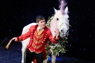 Fall in love with this Magic Beyond Belief Christmas Show Unicorn.