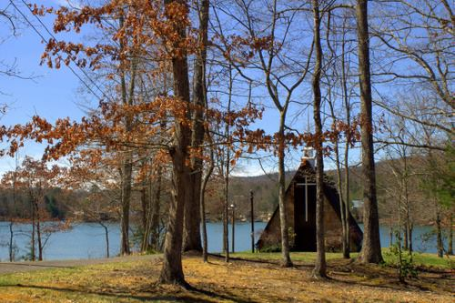 This Church In The Woods Is a Beautiful Photograph by Malia