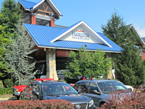 Fairfield Inns is great Gatlinburg lodging for the family!