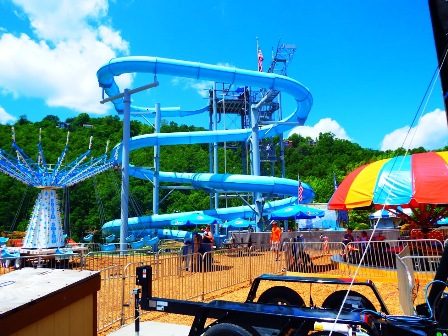 Enjoy Mayfest Rides as you celebrate in Ober Gatlinburg's huge amusement park!