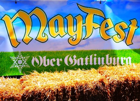Follow this Mayfest Sign for a day of fun and excitement!