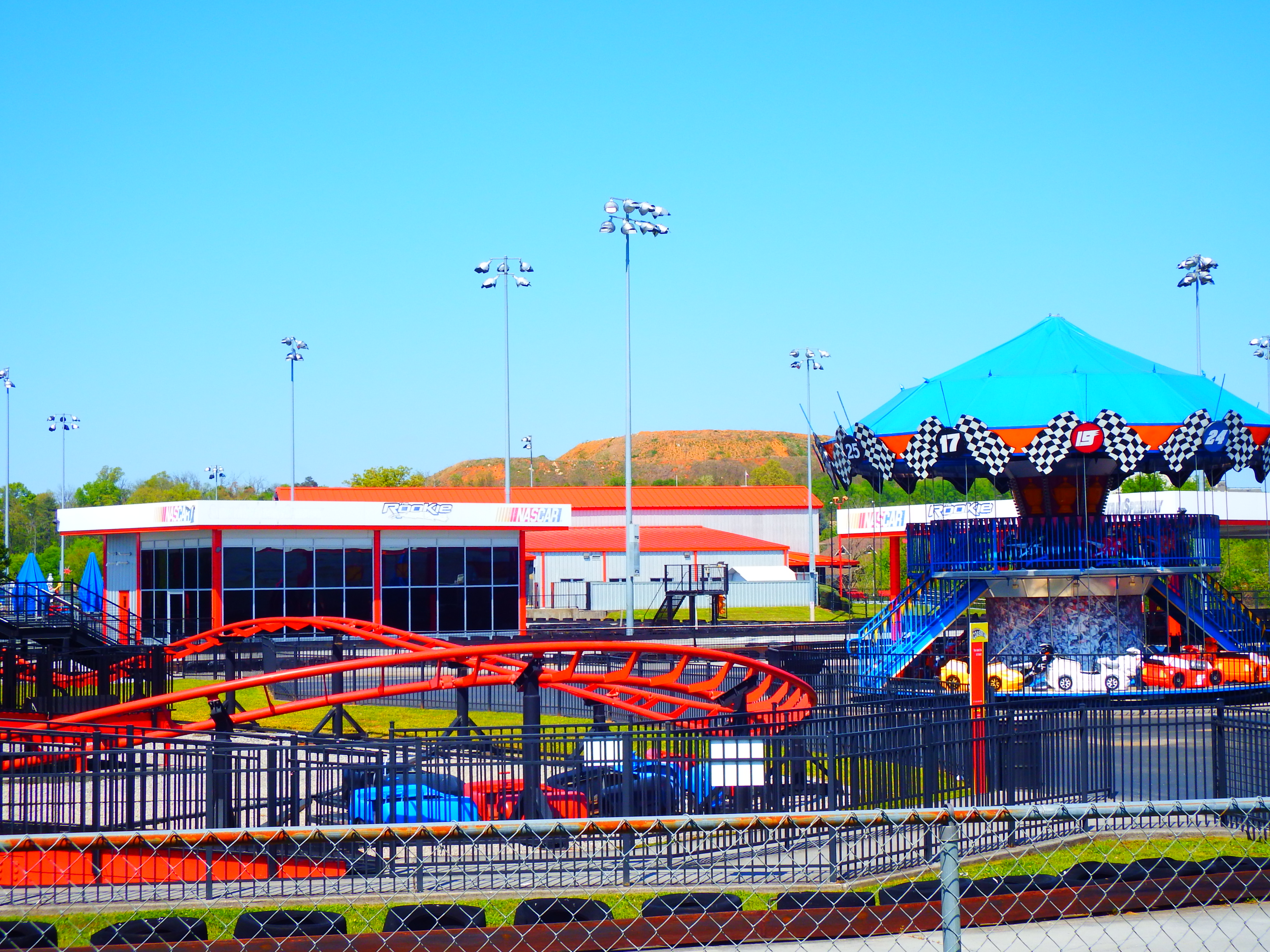Nascar Speed Park in Pigeon is the place for family fun!