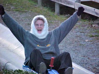 The Ober Gatlinburg Alpine Slide is a blast!