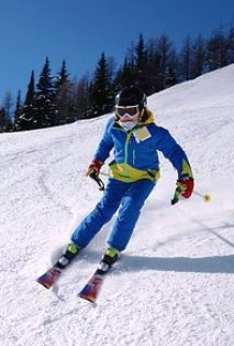 There is never a dull moment while Ober Gatlinburg Skiing.
