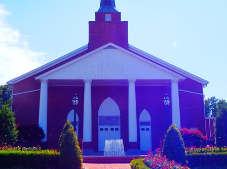 There is plenty of Old Time Religion going on at the First Baptist Church Pigeon Forge