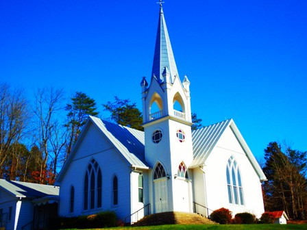 Faith and Old Time Religion naturally come together at Middle Creek United Methodist Church.