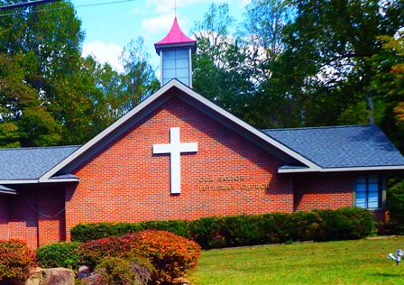 There is plenty of good old time religion at Our Savior Lutheran Church - Gatlinburg!